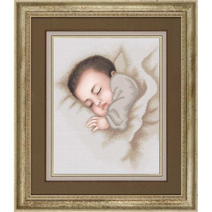 Набор для вышивания бисером СЛАВЯНОЧКА арт. НК-3066 Сладкие сновидения 28,5х36,5 см