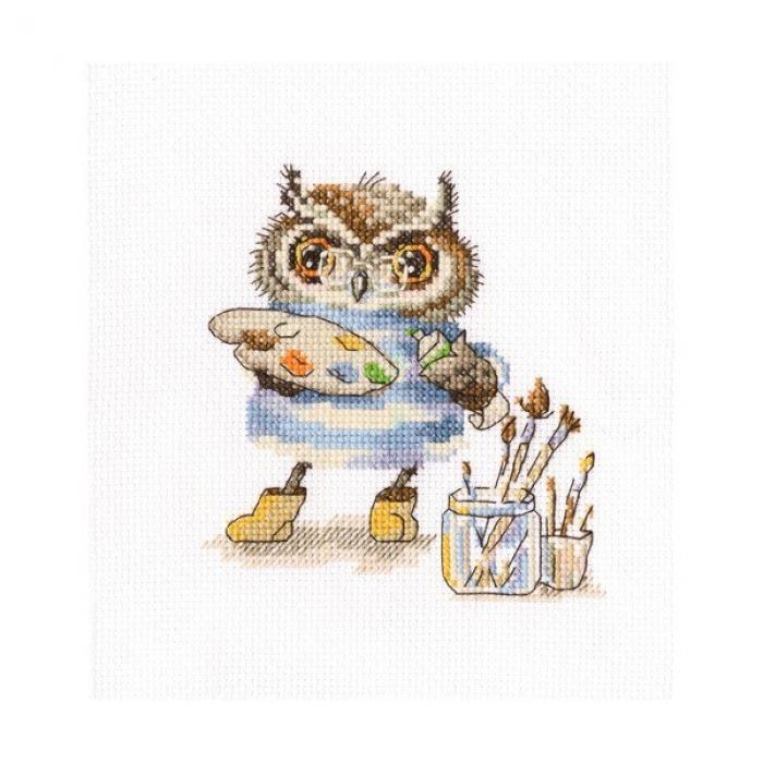 Набор для вышивания РТО арт.C226 Волшебная палитра 15х16 см