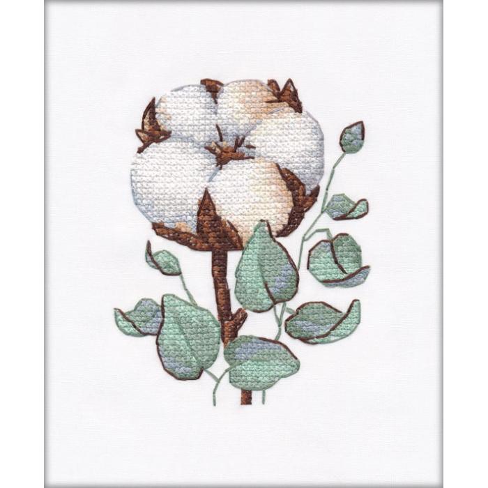 Набор для вышивания ОВЕН арт. 1229 Хлопок 8х10,5 см