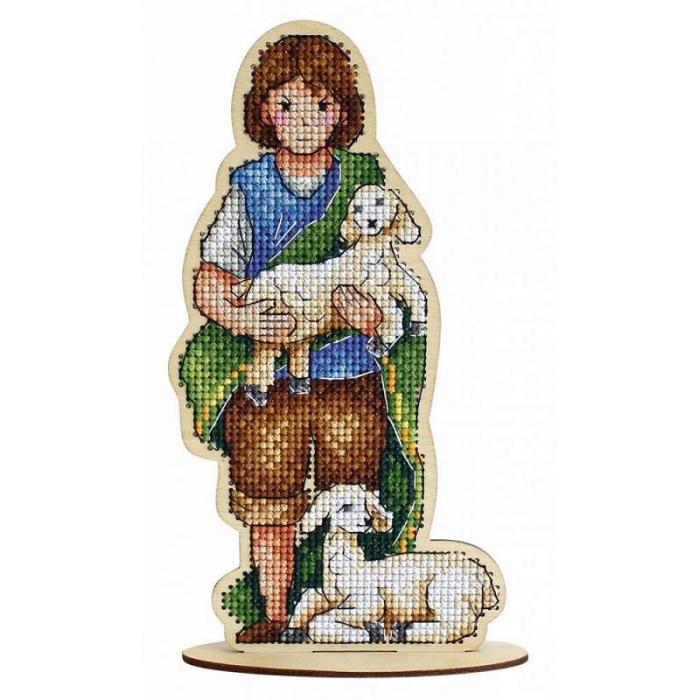 Набор для вышивания Щепка арт.О-028 Пастушок 10х18 см