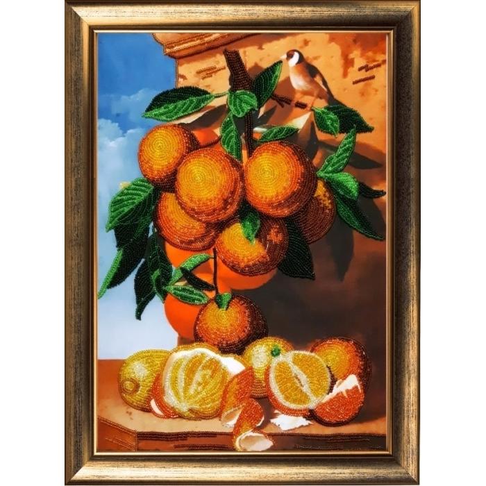 Набор для вышивания BUTTERFLY арт. 135 Апельсиновая ветка 36х25 см