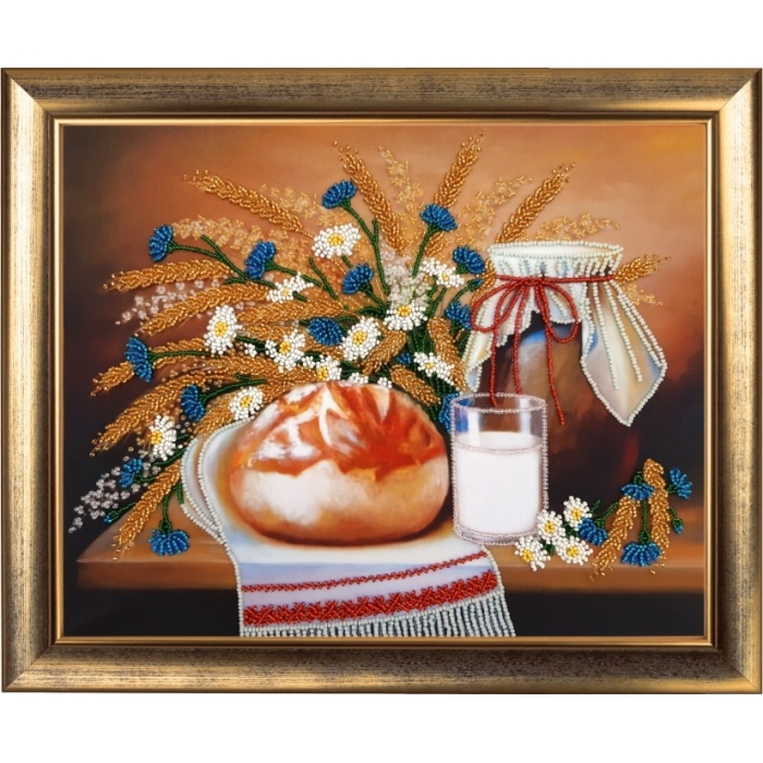 Набор для вышивания BUTTERFLY арт. 171 Натюрморт с караваем 26х33 см