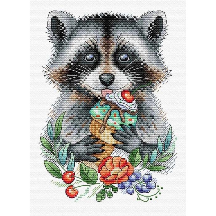 Набор для вышивания ЖАР-ПТИЦА арт.В-536 Озорной гурман 20х14 см