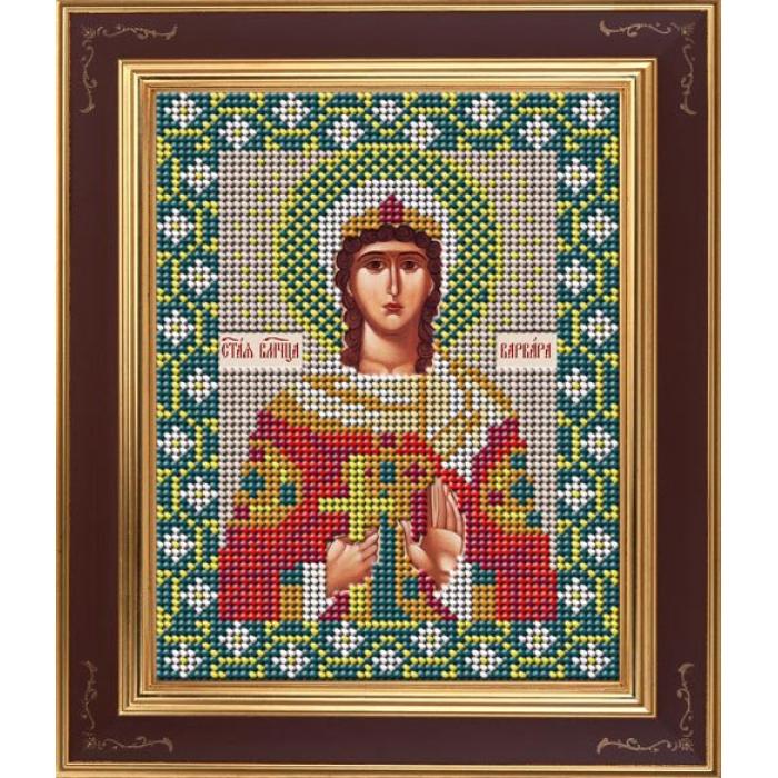 Набор для вышивания бисером GALLA COLLECTION арт.М 270 Св. великомученица Варвара 12х15 см
