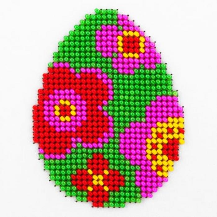 Набор для вышивания бисером LOUISE арт. L431 Пасхальное яйцо 11х11 см