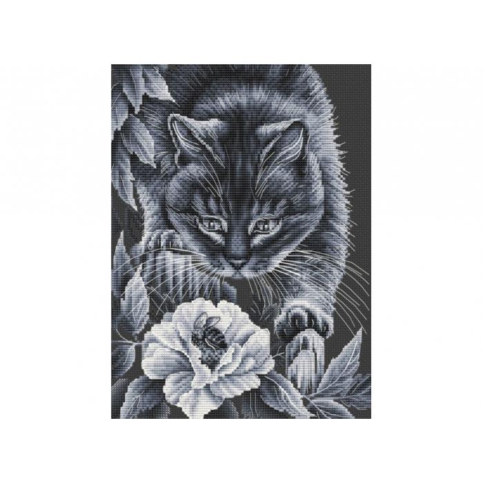Набор для вышивания нитками БЕЛОСНЕЖКА арт.БЛ.185-14 Ночные приключения 20х27,5см