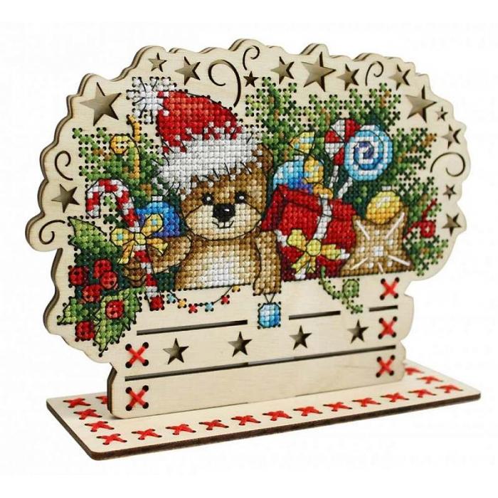 Набор для вышивания Щепка арт.О-036 Скоро Новый год 13х17 см