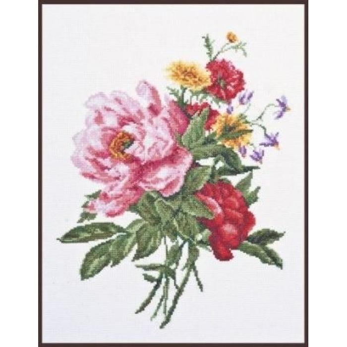 Набор для вышивания ПАЛИТРА арт.01.013 Гамма цветов 24х31см