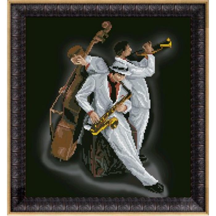 Набор для вышивания мулине КРАСА И ТВОРЧЕСТВО арт.30414 И растворились в музыке 28х30,7 см