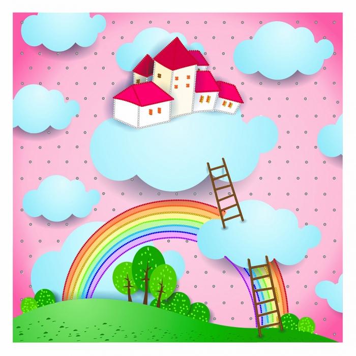 Набор для вышивания бисером МАТРЕНИН ПОСАД арт.41х41 - 0181/Б Радужный сон