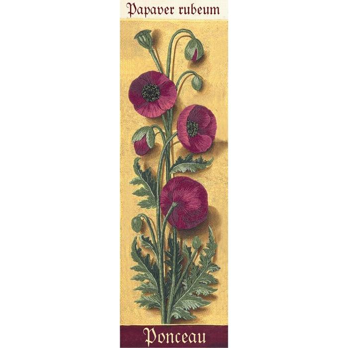 """Набор для вышивания PANNA """"Живая картина"""" арт. JK-2122 Ботаника. Маки 7х24,5 см"""
