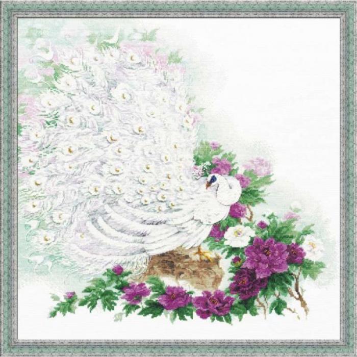 Набор для вышивания РИОЛИС арт.100/030 Сад Махараджи 50х50 см