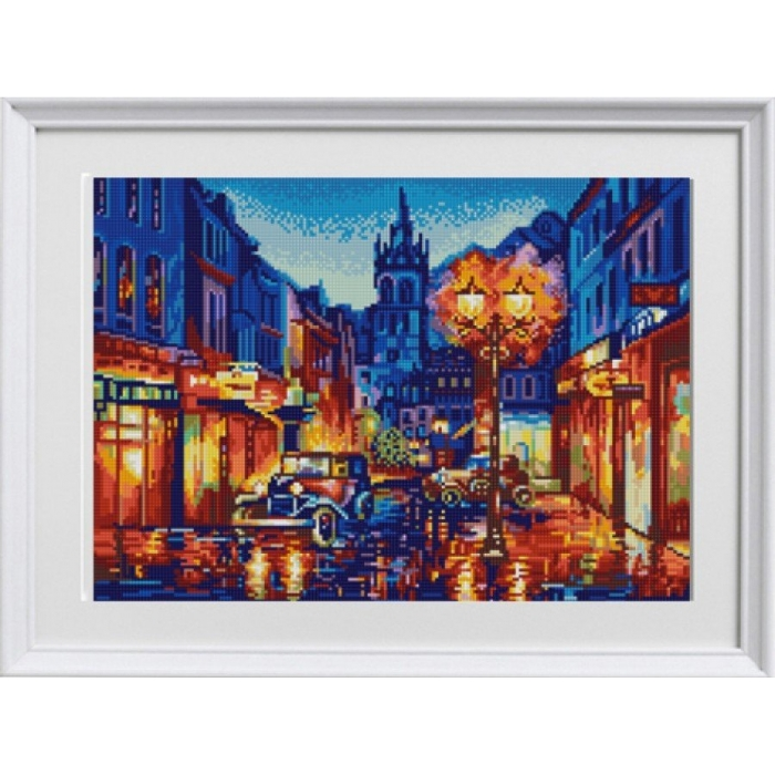 Рисунок на ткани (Бисер) КОНЁК арт. 1287 Амстердам 29х39 см