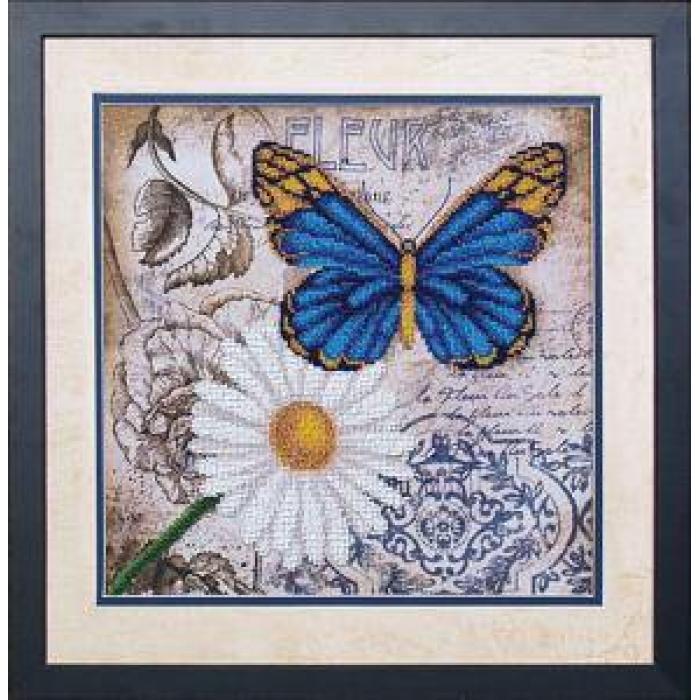 Набор для вышивания бисером МАГИЯ КАНВЫ арт.Б040 Цветы любви 2 26,5х26,5 см