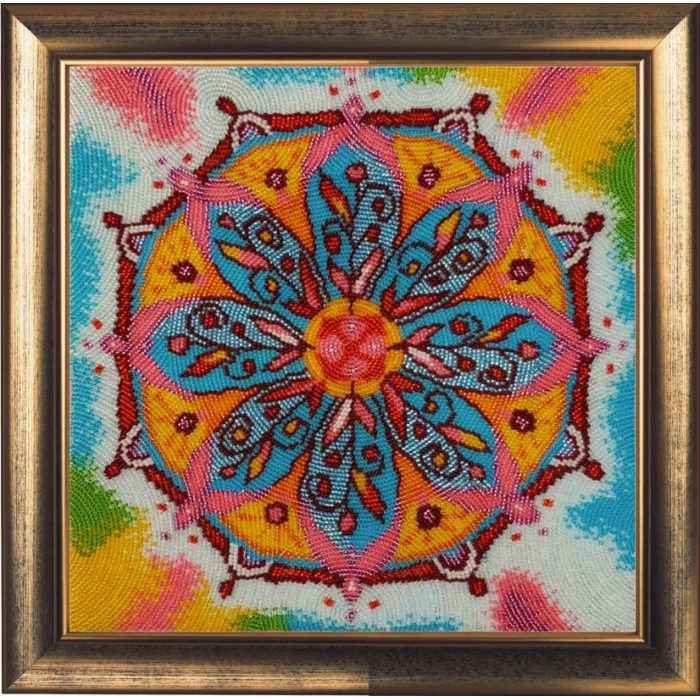 Набор для вышивания BUTTERFLY арт. 133 Мандала благополучия 27х27 см