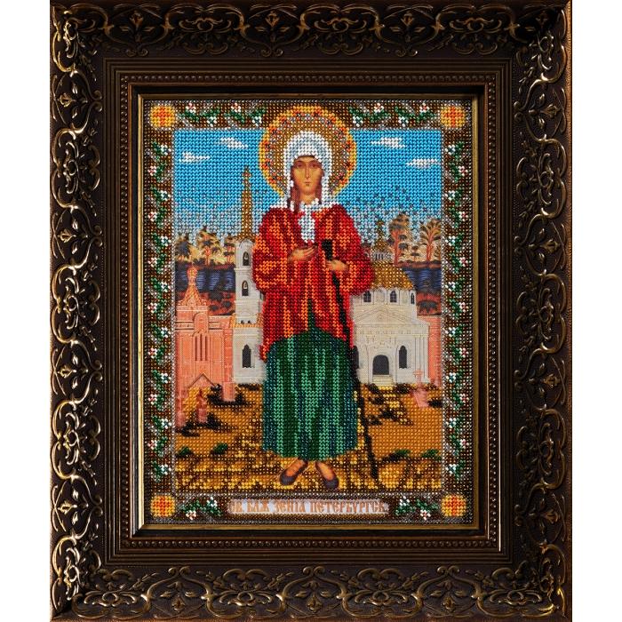 Набор для вышивания бисером КРОШЕ арт. В-176 Ксения Петербуржская 20x26 см