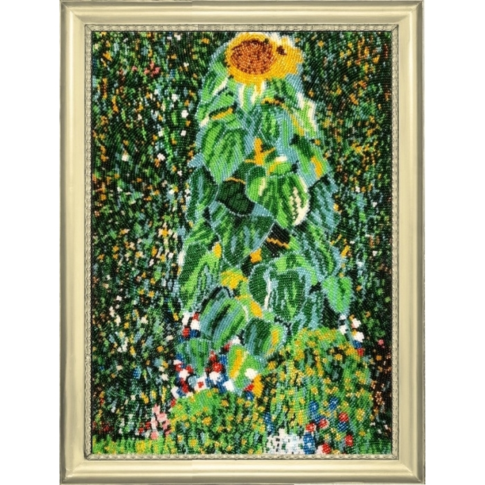 Набор для вышивания BUTTERFLY арт. 137 Подсолнух. По мотивам Г. Климта 36х26 см