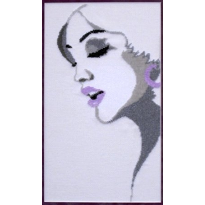 Набор для частичного вышивания бисером ИМПЕРИЯ БИСЕРА арт.ИБ-134 Жасмин 25х38 см