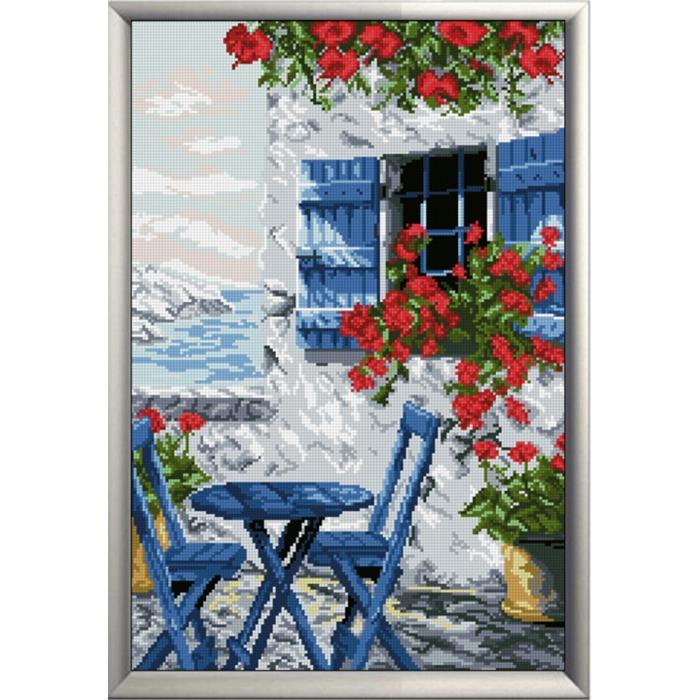 Набор для вышивания мулине КРАСА И ТВОРЧЕСТВО арт.10217 Райский уголок м1 27,3х40,7 см