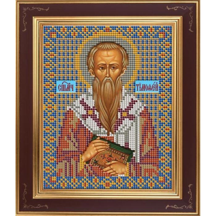 Набор для вышивания бисером GALLA COLLECTION арт.М 248 Св. Тимофей 12х15 см