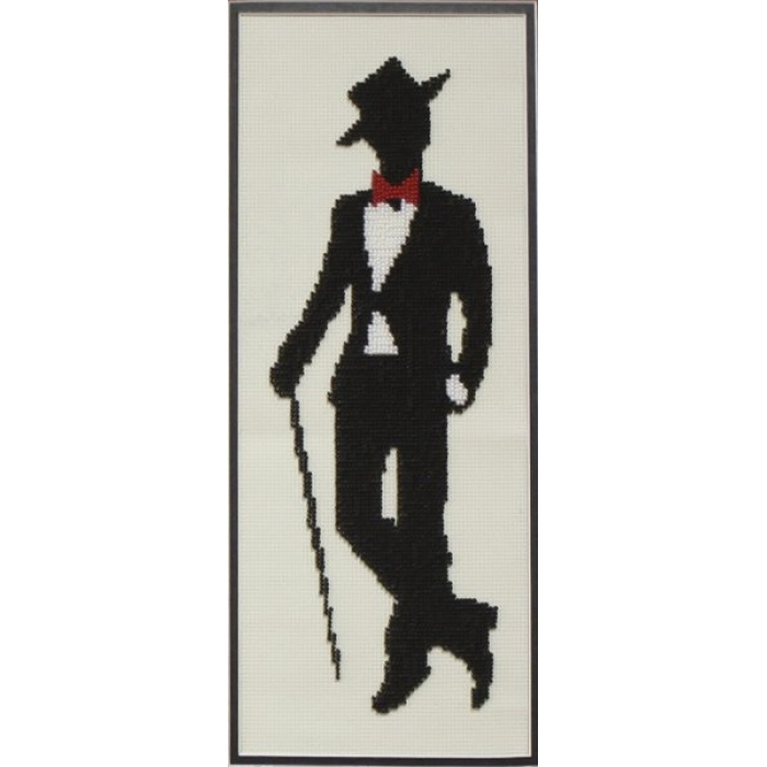 Набор для частичного вышивания бисером ИМПЕРИЯ БИСЕРА арт.ИБ-131 Мистер Луи 13х36 см