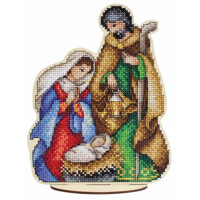 Набор для вышивания Щепка арт.О-026 Святое семейство 19х15 см