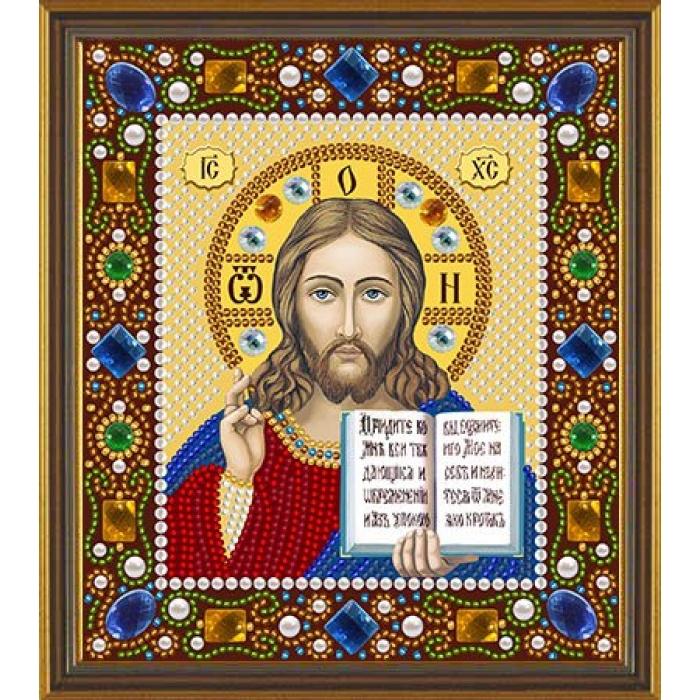 Набор для вышивания бисером НОВА СЛОБОДА арт.Д6024 Христос Спаситель 13х15 см