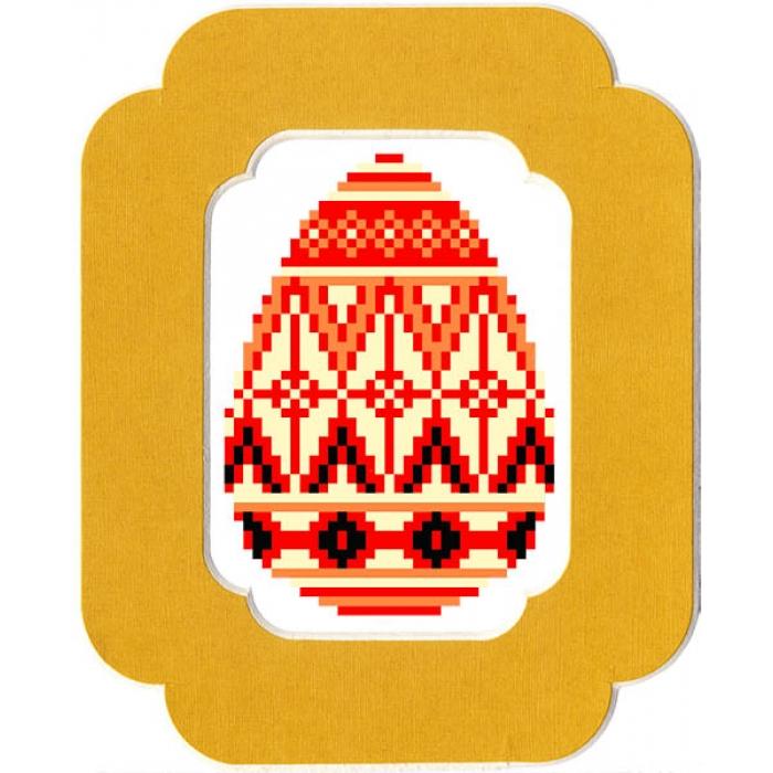 Набор для вышивания бисером с паспарту МАТРЕНИН ПОСАД арт.13х18 - 92/БП Праздничное
