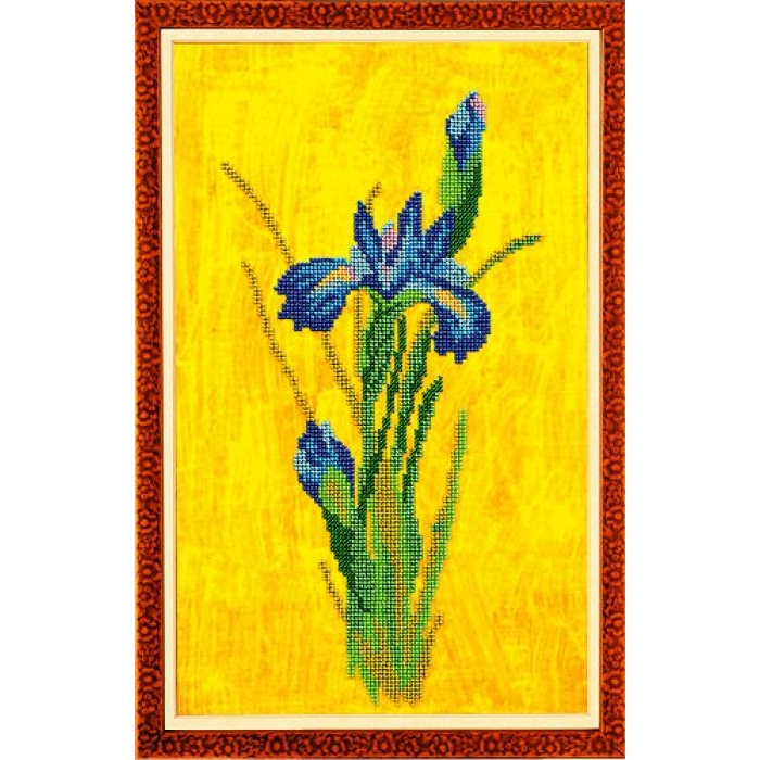 Набор для вышивания бисером КРОШЕ арт. В-221 Соблазн 22x36 см