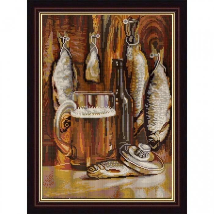 Рисунок на ткани (Бисер) КОНЁК арт. 1299 Пятница 29х39 см