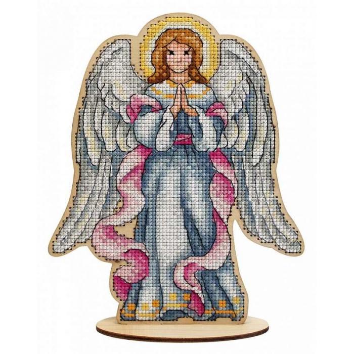 Набор для вышивания Щепка арт.О-027 Рождественский ангел 15х18 см