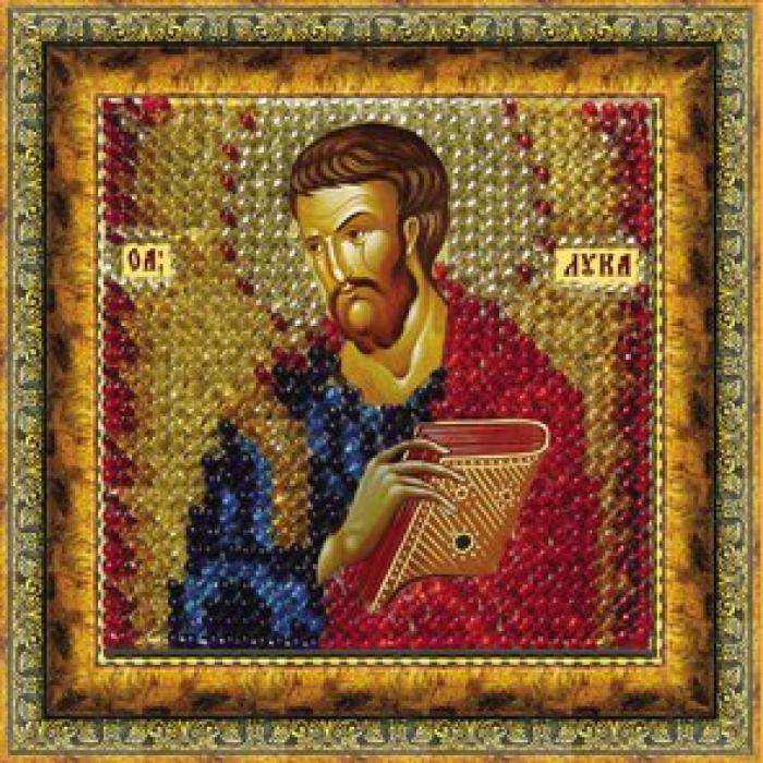 Набор для вышивания ВЫШИВАЛЬНАЯ МОЗАИКА арт. 132ПМИ Св.Апостол и Евангелист Лука 6,5х6,5см