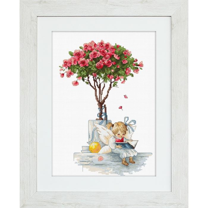 Набор для вышивания LUCA-S арт. B1115 Розы 18х26,5 см