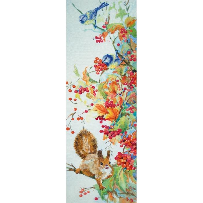 """Набор для вышивания PANNA """"Живая картина"""" арт. JK-2096 Щедрая осень 43х15 см"""
