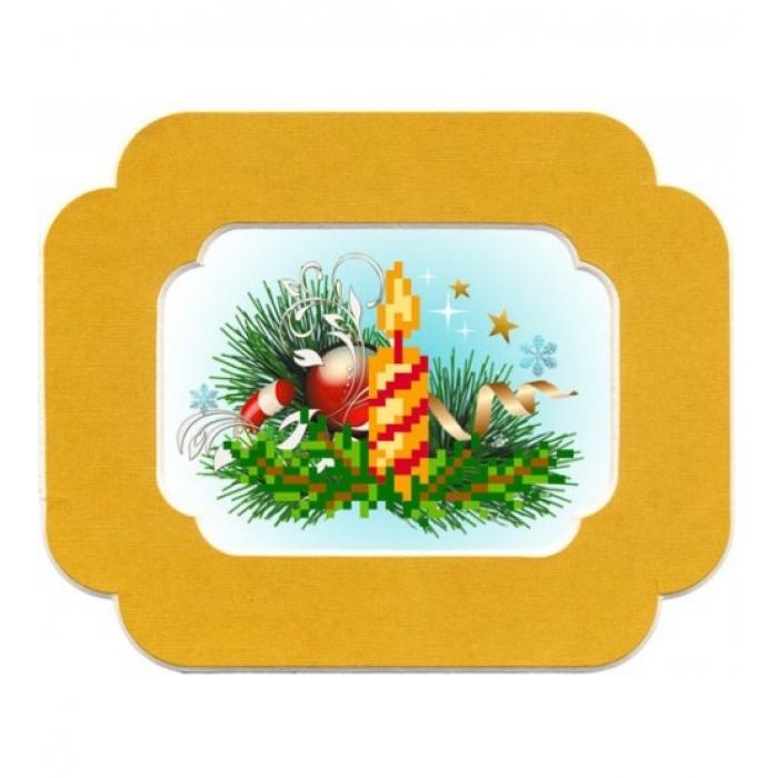 Набор для вышивания бисером с паспарту МАТРЕНИН ПОСАД арт.13х18 - 70/БП Желание