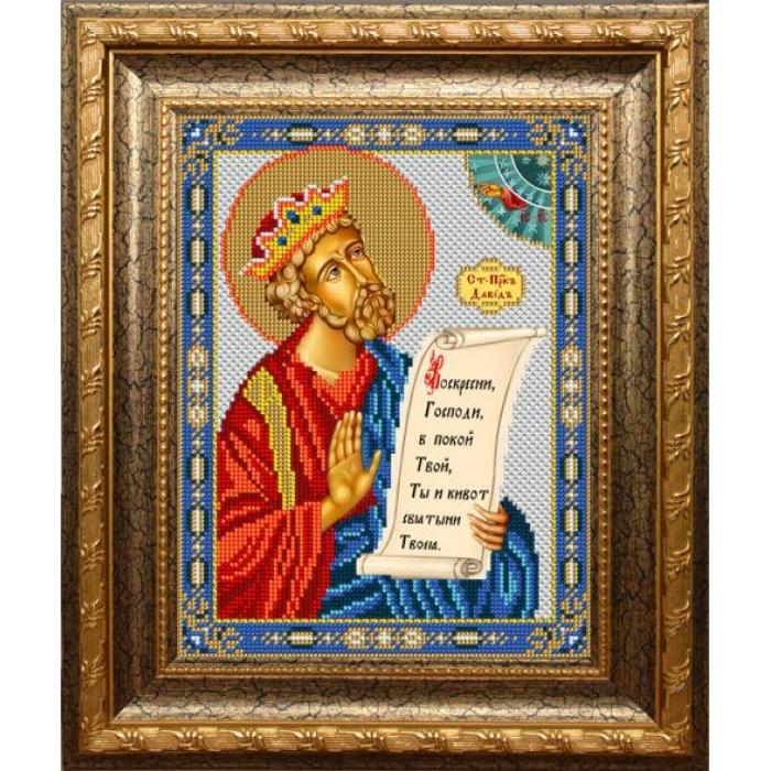 Набор для вышивания бисером ВЫШИВАЕМ БИСЕРОМ арт.L137 Давид 18,5х24,5см