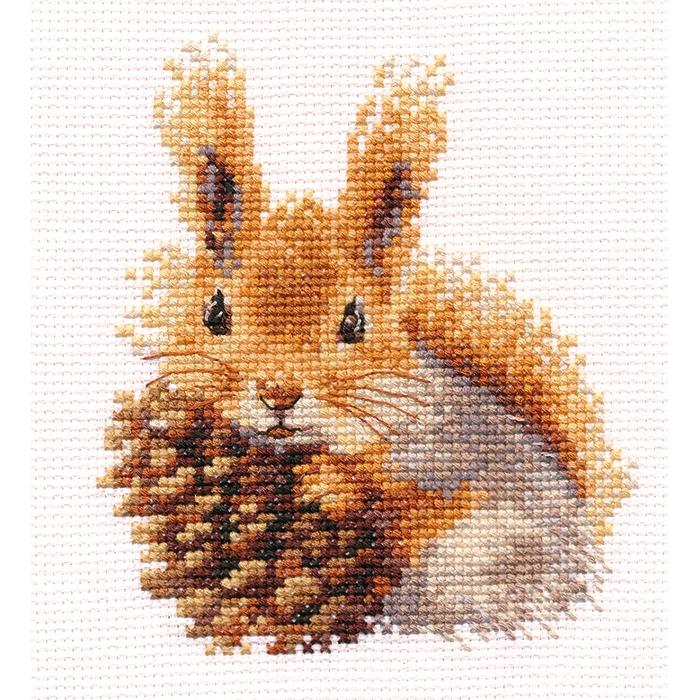 Набор для вышивания АЛИСА арт.0-173 Белочка 11х12 см