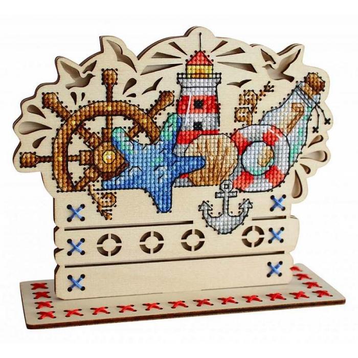 Набор для вышивания Щепка арт.О-037 Морские сокровища 13х15 см