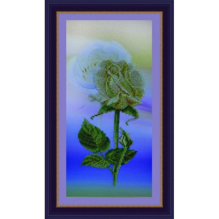 Набор для вышивания бисером КАРТИНЫ БИСЕРОМ арт.P-061 Долина роз-3 17,5х35 см