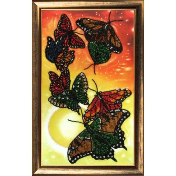 Набор для вышивания BUTTERFLY арт. 106 Вальс бабочек 37х23 см