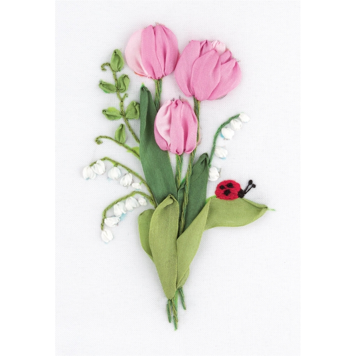 """Набор для вышивания PANNA """"Живая картина"""" арт. JK-2135 Нежность весны 11х16 см"""