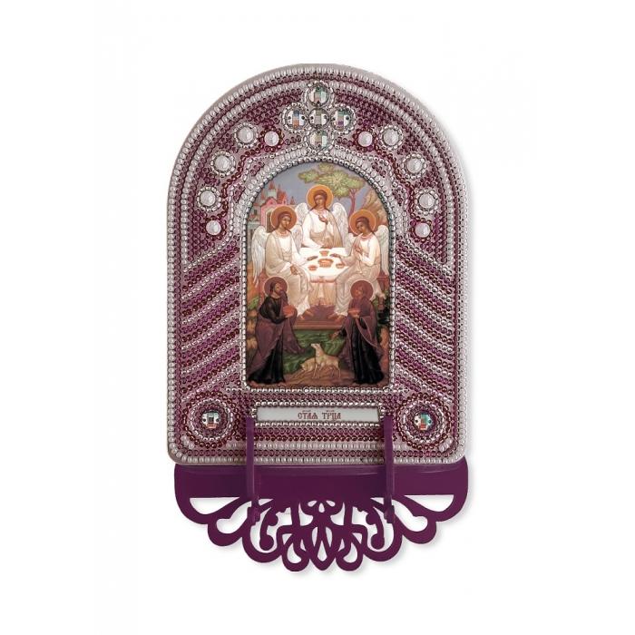 Набор для вышивания бисером НОВА СЛОБОДА арт.ВК1013 Троица 10х13 см