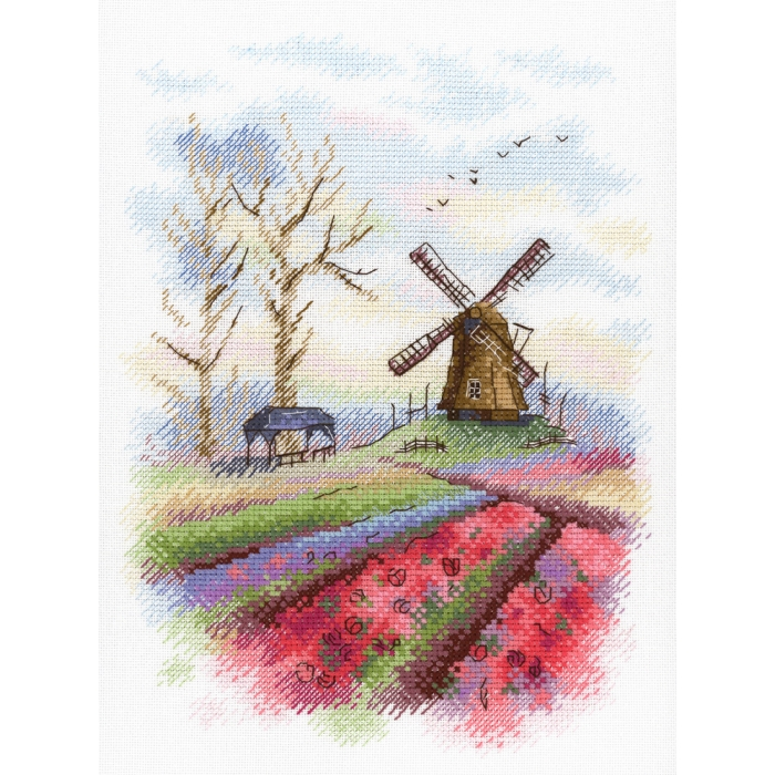 Набор для вышивания МП СТУДИЯ арт.А-017 Южная Голландия 25х18 см