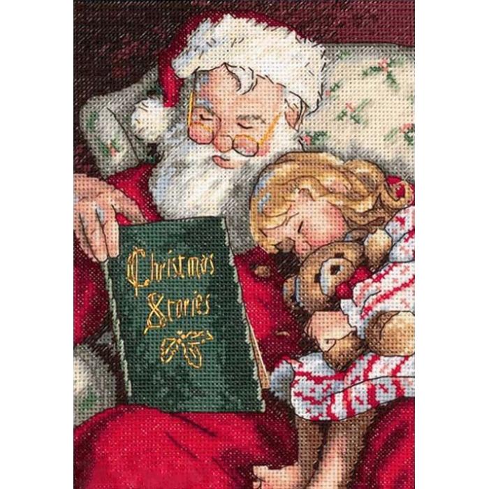 """Набор для вышивания Classic Design арт.4378 """"Рождественские истории"""" 14х20 см"""