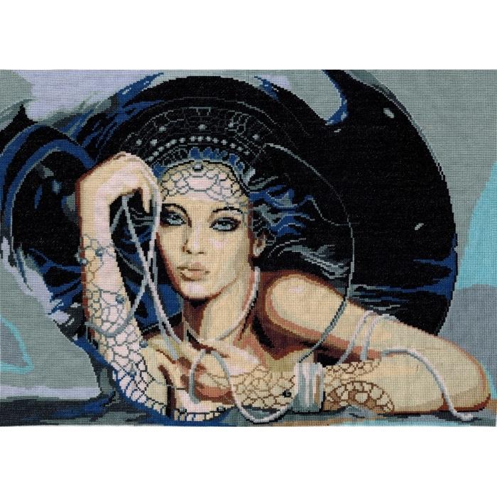 Набор для вышивания мулине НИТЕКС арт.0103 Селена 40х29 см