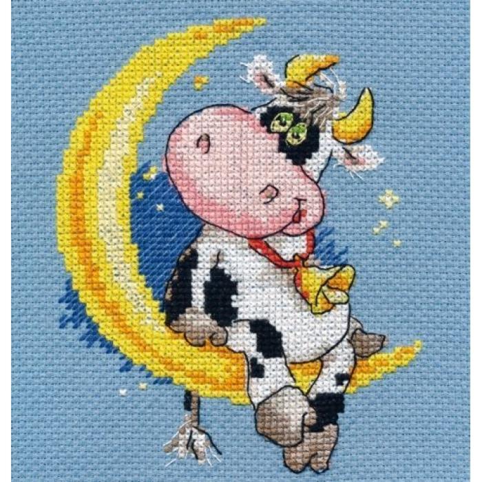 Набор для вышивания АЛИСА арт.0-117 Сладких снов 10х13 см