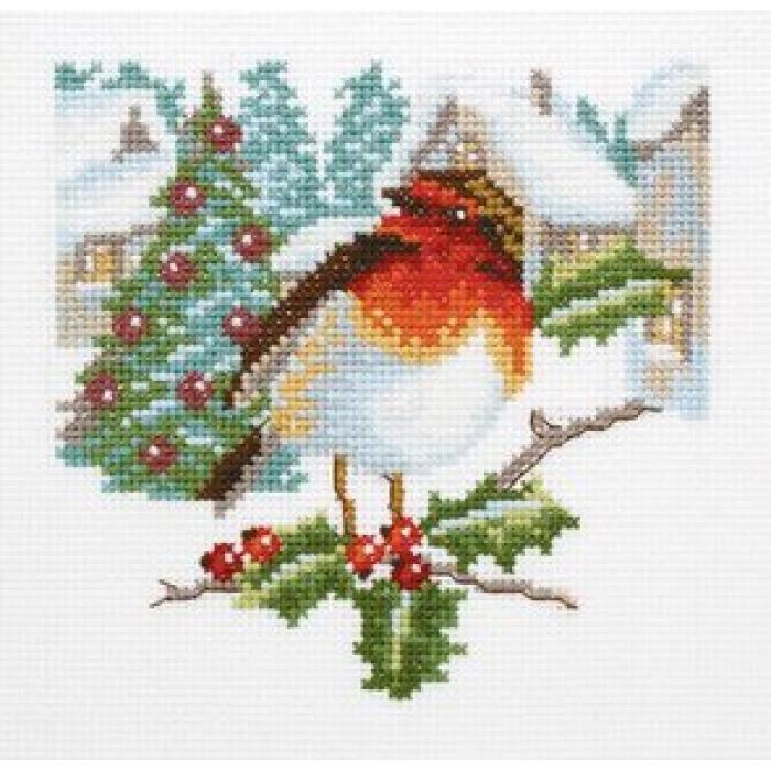 Набор для вышивания РТО арт.C203 Приметы рождества 14х14 см