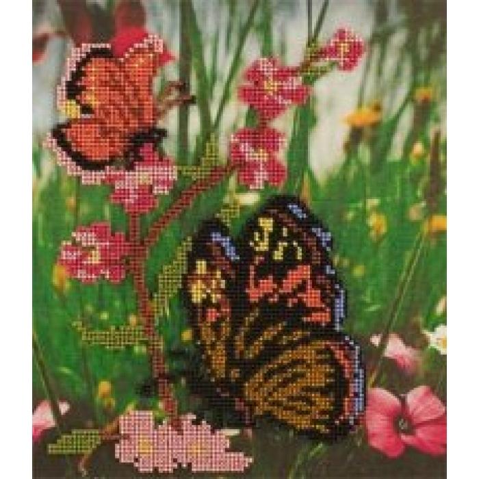 Набор для вышивания бисером КРОШЕ арт. В-206 Рандеву 20x23 см
