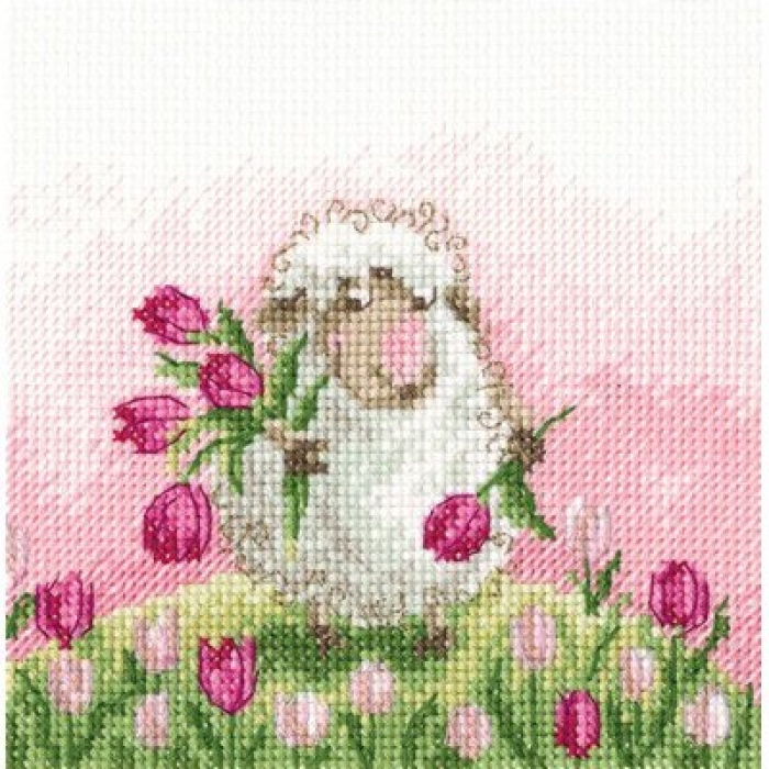 Набор для вышивания РТО арт.C237 Желание в каждом цветке 12,5х12,5 см