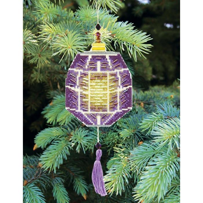 Набор для вышивания Crystal Art арт.T-28 Красочные фонарики 8,5х21 см